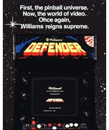 """Video Arcade Game Stand-Up Display """"DEFENDER"""" - Asteroids Gaming Pacman - $15.99"""