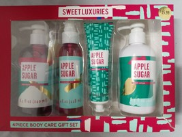 Target Beauty Sweet Luxuries Apple Sugar Bath and Body Care Gift Set 4pc - $15.83