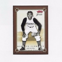 2004 FLEER GREATS OF THE GAME PIRATES ROBERTO CLEMENTE #119 - $0.99