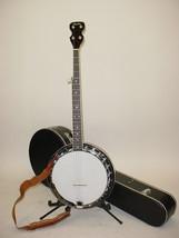 Vintage 1970's Epiphone EB-98 Closed Back 5-String Banjo with Case & Strap  - $499.99