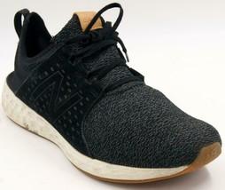 New Balance MCRUZOB Men's Black/Charcoal Gray Running Sneakers Sz 14 M Shoes - $33.24