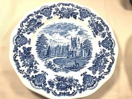4 ENGLAND ENOCH WEDGWOOD ROYAL HOMES OF BRITAIN DINNER PLATE WINDSOR CAS... - $55.44