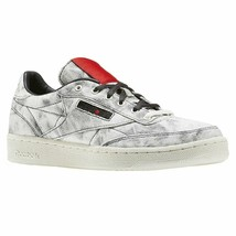 Reebok Club Classic x Kendrick Lamar White Coal Scarlet Kids Sneakers BS... - $59.95