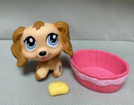 Littlest Pet Shop Hasbro LPS COCKER SPANIEL DOG #1318 authentic - $8.60