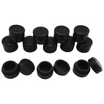 Gentcy Silicone 2ml Black 100pcs Containers Silicone Storage Jar Seals O... - $38.49