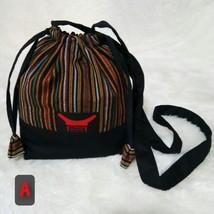 Mini sling bag, Toraja drawstring sling bag, sepu', ethnic woven bag, bo... - $50.00