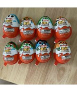 Kinder Joy Egg Candy with Halloween Glow in the Dark Toys  8 Unopened Eggs - $6.44