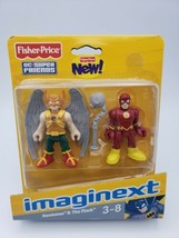 Fisher-Price Imaginext DC Super Friends, Hawkman & The Flash NEW SEALED ... - $19.79