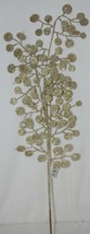 Unbranded Glittery Gold Decorative Disc Tree 29 Inches Spray image 1