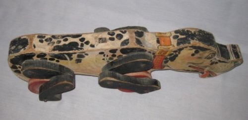 """NEAT Vintage 16 1/2"""" #180 Fisher Price SNOOPY Pull Toy"""