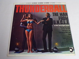 Thunderball man From UNCLE ORIGINAL Vintage 1966 Vinyl LP Record Album - £14.39 GBP