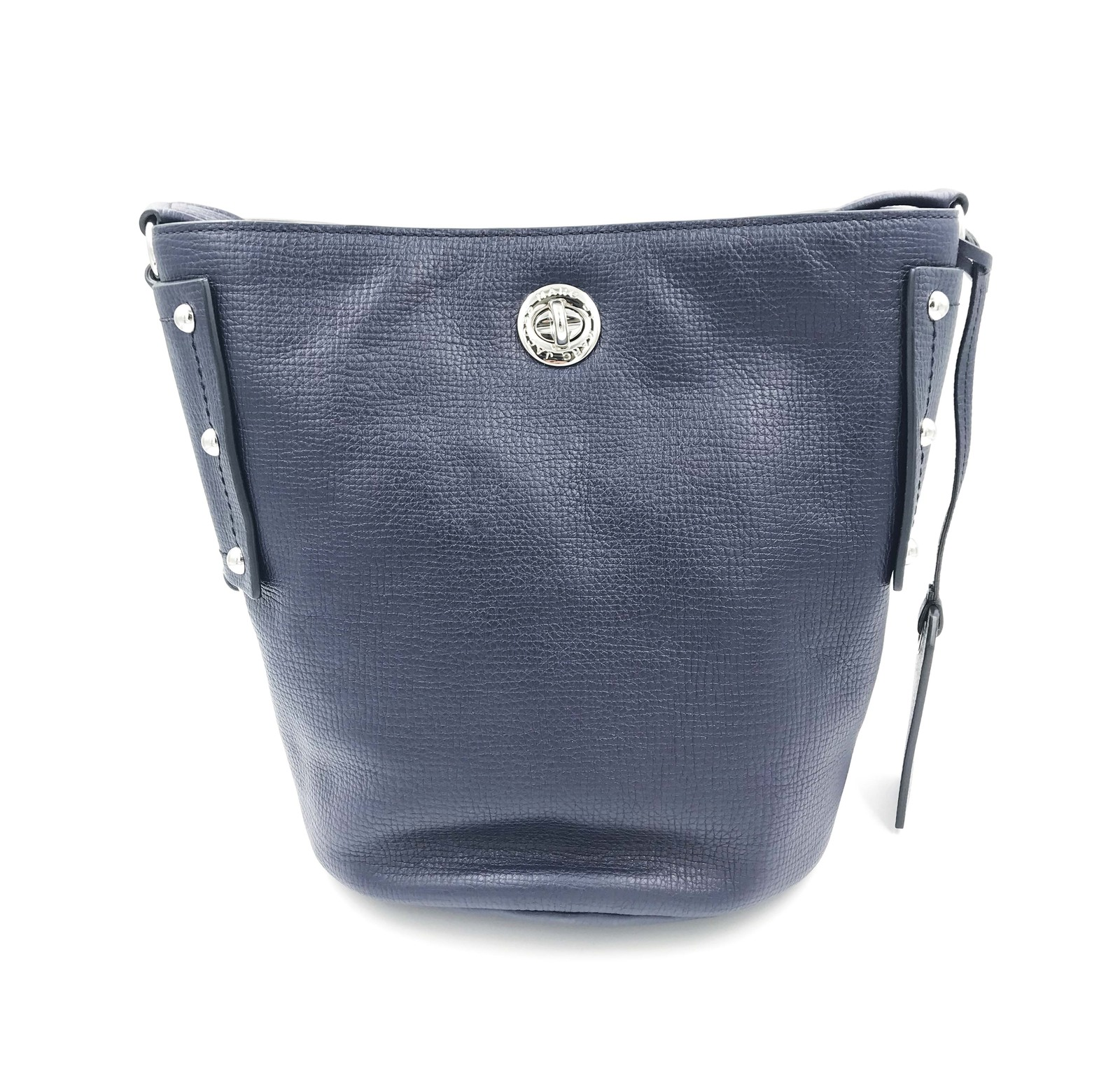 Primary image for Marc By Marc Jacobs M0007255-484 C Lock Bucket Navy Blue Crossbody Women's Bag