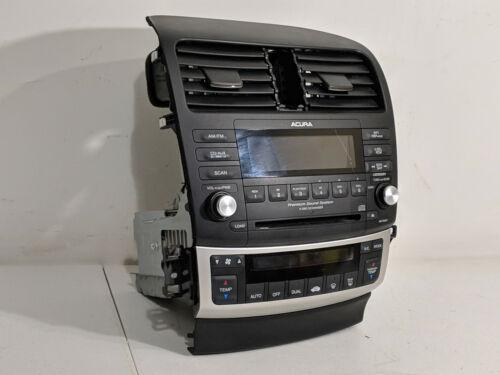 2004-2008 Acura TSX Radio Ac Control CD Changer OEM 39175-SEC-L020-M1 W/CODE