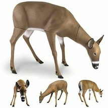 DOE DEER PROP HUNTING PORTABLE BUCK LURING DECOY Flambeau Grazing Whitet... - $159.91