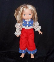 VINTAGE 1982 FISHER PRICE JENNY OR MANDY BLONDE HAIR DOLL STUFFED PLUSH TOY - $30.73