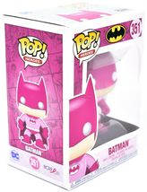 Funko Pop! Heroes Batman #351 BCRF Pink Breast Cancer Awareness Figure image 5