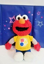 "Hasbro 14"" Elmo Sesame Street Rockin Shapes Color Talking Singing Elmo Plush Toy - $17.15"