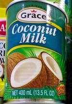 1 Grace Coconut Milk 400mL/ 1 Leche de coco Grace 400 ml - $9.41