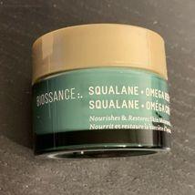 Biossance 15mL Squalane + Omega Repair Cream Restores Skin Moisture Barrier image 3