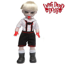 Scary Tales 3:  Hansel Living Dead Doll new in coffin display box by Mez... - $49.99