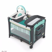 Baby Trend Playard Mattress Playpen Crib Portable Foldable Travel Bassin... - $155.02
