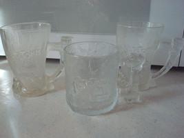 Vintage McDonald's  Flintstones Glasses, Lot of 3 New 1993 - $18.80