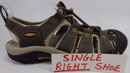 SINGLE RIGHT SANDAL Keen Newport Men's Size US 7.5 M (D) EU 40 Gargoyle / Raven