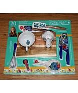 The Pioneer Woman 20 Piece Kitchen Accessory & Gadget Set Dazzling Dahli... - $64.12
