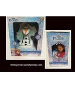 Frozen Snowman Olaf Movie Character Kid's Portable Light 3 LED Settings ... - $10.99