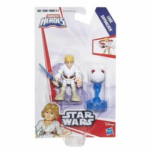 HASBRO STAR WARS GALACTIC HEROES Luke Skywalker 2.5 action figure NEW MIP - $17.81