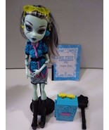 Monster High- Frankie Stein City of Frights Doll With Accessories - $22.99