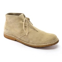Shoes AUSTRALIA Shearling Men 48 UGG 14 Desert Suede Leighton 5 Tan BOOTS Lace Zqwq74d