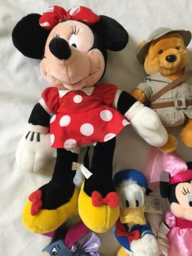 Disney Eeyore Pooh Minnie Mickey Plush Lot ... And Donald Too! image 5