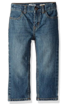 NEW OshKosh B'Gosh Boys' Classic Jeans Medium Faded Size 5 REG Adjustabl... - $13.51