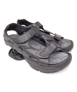 Z-COIL men pain relief orthotic sandal black leather Sidewinder size 11 - $89.00