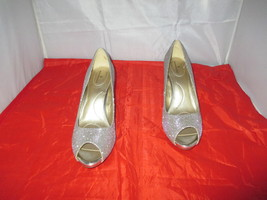 Bandolino Rainaa Women's Peep-Toe Pumps $59 Gold - US Size 10 M - $29.99