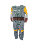 Rubies Star Wars Boba Fett Costume Boys Size L Dress-up Long Slv Bodysui... - $7.91