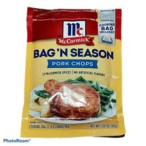 McCormick Bag 'N Season Pork Chops 1.06 oz Packet Best By 08/2022 (One) Bag Incl - $8.42
