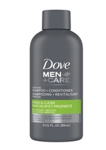 Dove Men+Care 2 in 1 Shampoo and Conditioner, Fresh and Clean, 3 oz  - $2.95