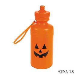 Jack-O¡¯-Lantern Water Bottles