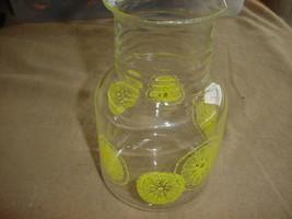 Pyrex Lemons #3515 1.5 Quart Beverage Carafe Free Usa Shipping - $23.36