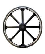 """24 x 1"""" Wheelchair 8 spoke, Bariatric Mag Wheel (Pair) - $125.00"""