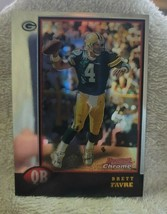 1998 Bowman Chrome Brett Favre - $5.00