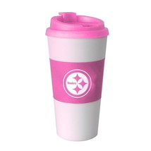 NFL Pittsburgh Steelers Pink Sleeve Travel Tumbler, 16-ounce - $19.79