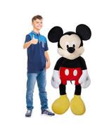 NEW Mickey Mouse, 60-inch Jumbo Plush Mickey, Disney Character FREE SHIP... - $84.99