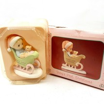 Enesco Precious Moments Miniature Christmas Figurine Baby's First Christmas - $12.99