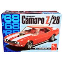 Skill 2 Model Kit 1968 Chevrolet Camaro Z/28 2-in-1 Kit 1/25 Scale Model... - $44.37