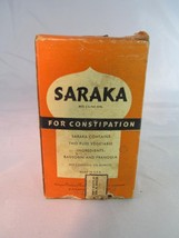 Saraka for Constipation - Unopened Box - Vintage Medicine - $79.48