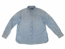 3171-1 Polo Ralph Lauren Mens Classic Button-Down Chambray Denim Shirt $125 - $64.79