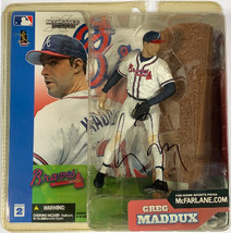 Greg Maddux signed 2002 Atlanta Braves McFarlane Sports Picks Action Fig... - $88.95